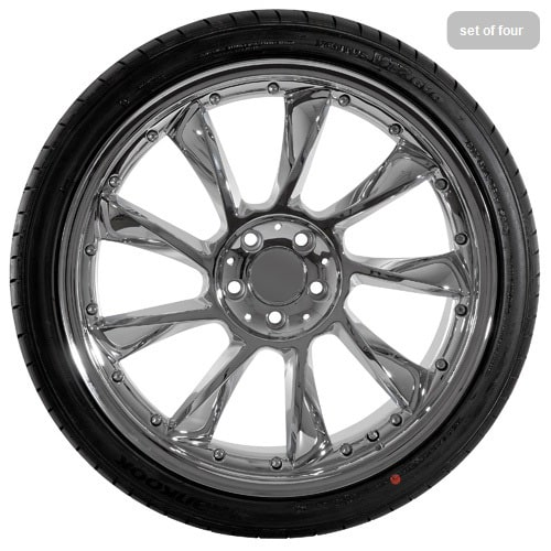 20 replica mercedes benz chrome wheel and tire package for Rims and tires for mercedes benz