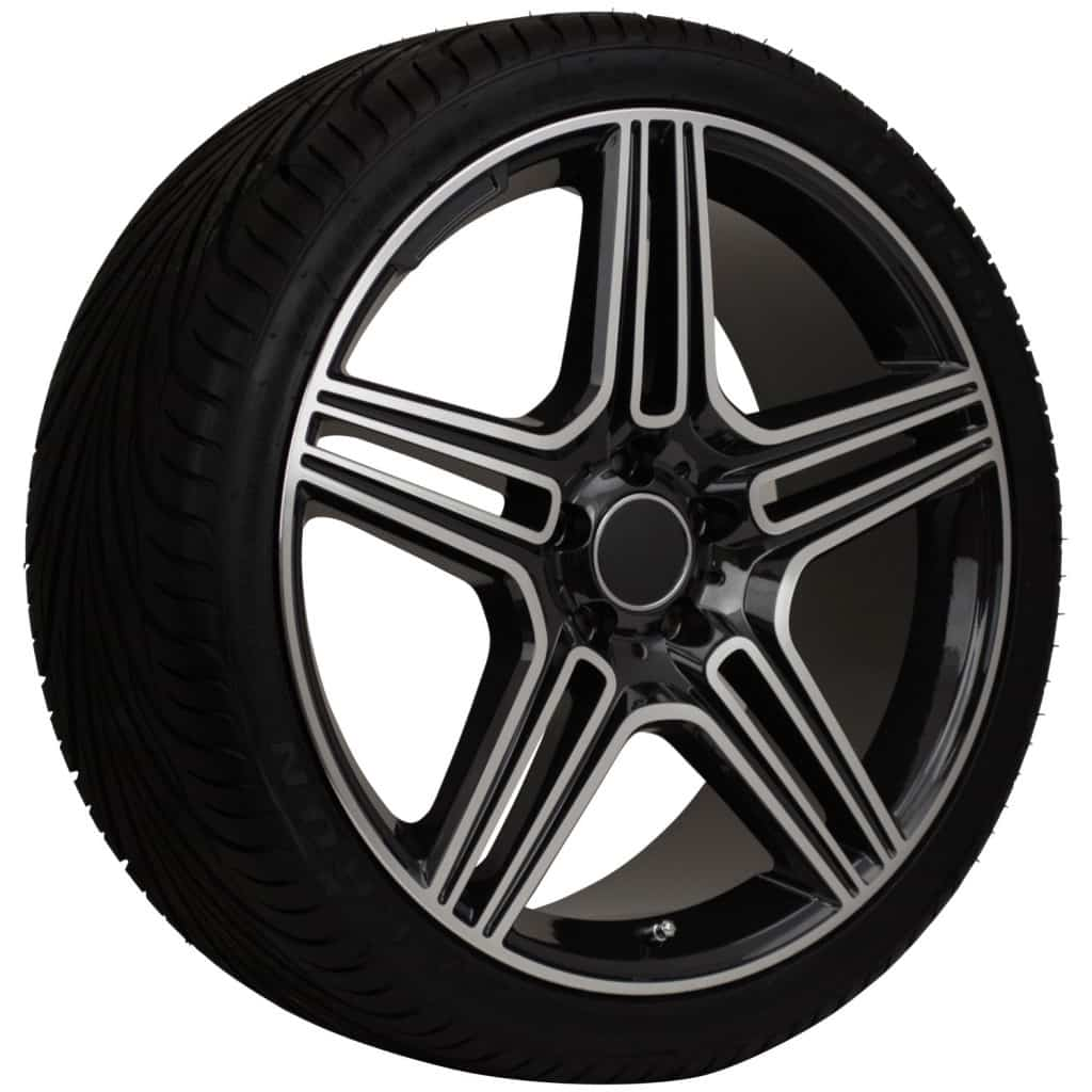 20 replica mercedes benz rims deep dish wheel and tire for Rims and tires for mercedes benz