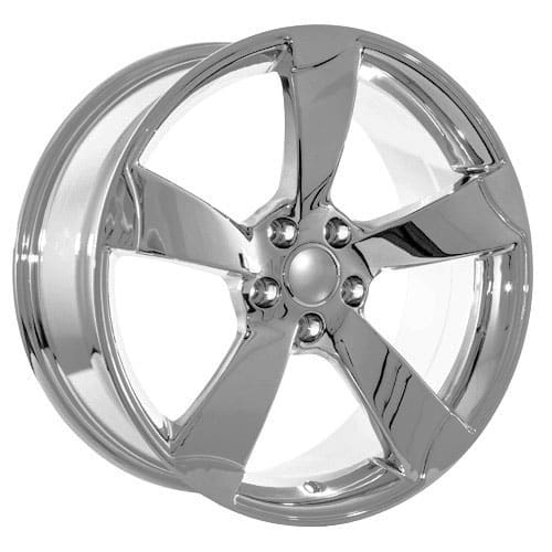 19 Audi Chrome Rotor Style Wheels Rims