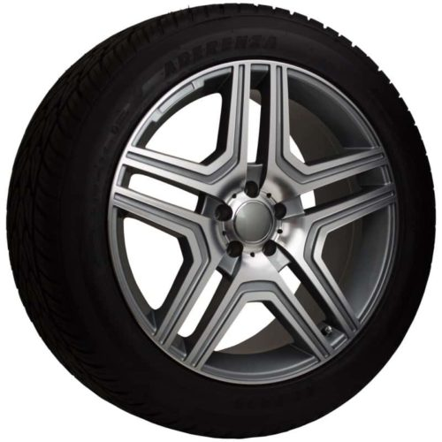 20 replica mercedes benz gunmetal wheel and tire package for Rims and tires for mercedes benz