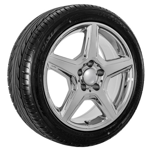 17 replica chrome mercedes benz wheels rims tire package for Rims and tires for mercedes benz