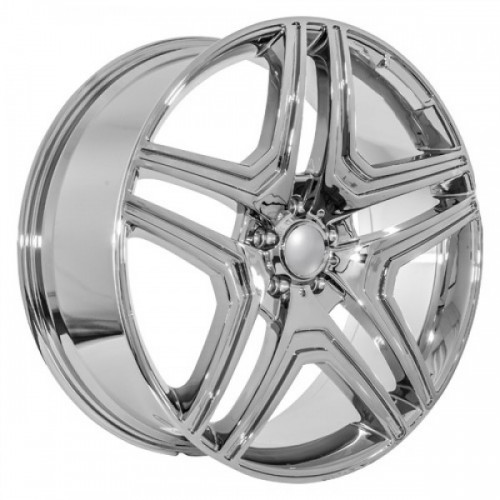 22 Ml63 Replica Chrome Mercedes Benz Wheels Hollander 85114
