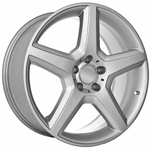 19 chrome mercedes benz replica rims for Chrome rims for mercedes benz