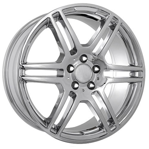 19 staggered replica mercedes benz wheels chrome rims 660 for Chrome rims for mercedes benz