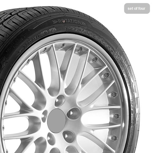 20 Audi Q7 Wheels Silver With Polished Lip Rims With Tires