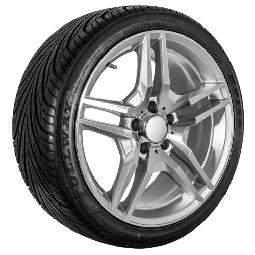18 mercedes benz replica wheels rims tire package usarim for Rims and tires for mercedes benz