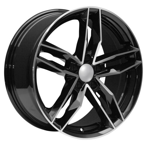 Audi MachinedBlack Wheels Rims Set Of Rims NEW UsaRim - Audi rims